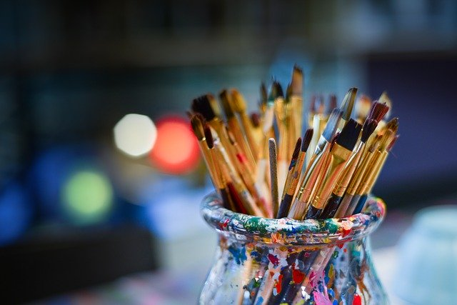 пензлики для малювання